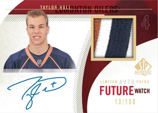 2011-SPA-Rookie-Future-Watch-Auto-Patch-Taylor-Hall