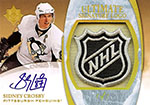 2010-11 NHL Ultimate Collection Featuring Sidney Crosby Autograph Shield
