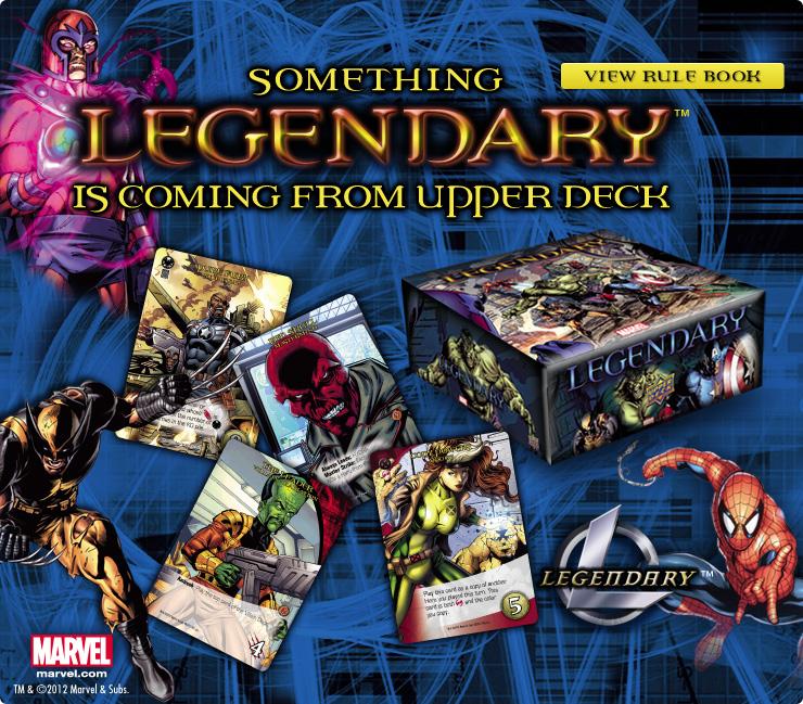 The Upper Deck Company Marvel Legendary