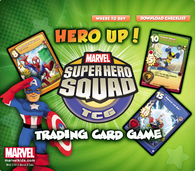 Hero Up Trading Card Game