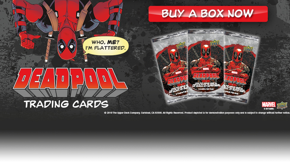 41f48e6b9 Upper Deck Authenticated NBA Supreme Hard Court is Now Available! Deadpool  Trading Cards