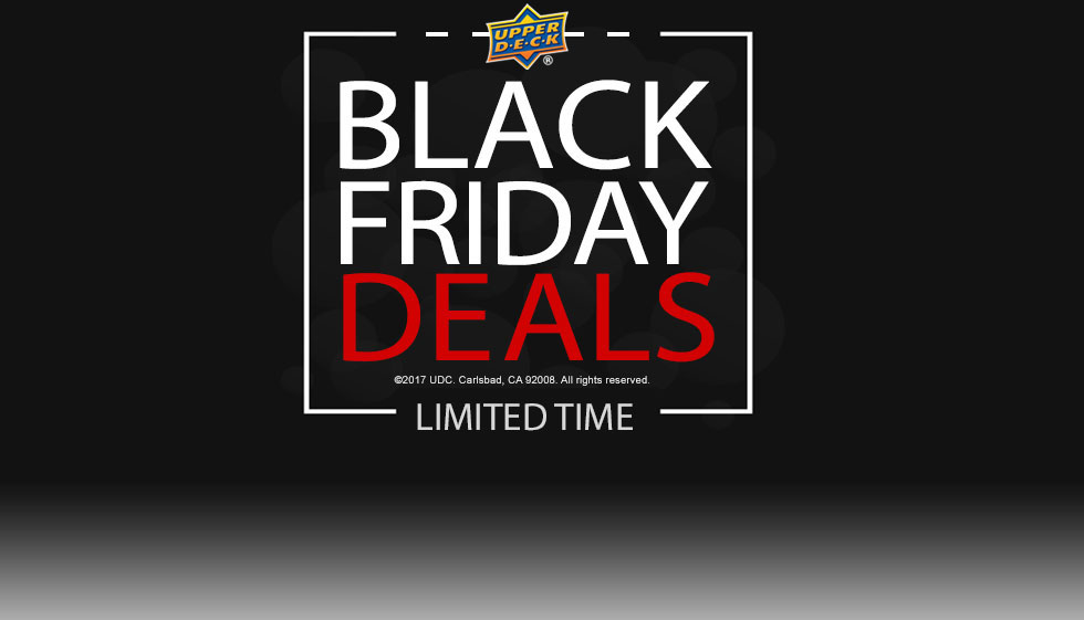 Upper Deck's Black Friday Event Starts Now!