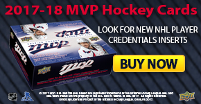 2017-18 MVP Hockey Trading Cards Now Available!