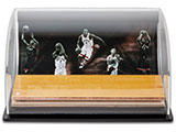 Toronto Raptors Defenders of the Hardwood Game-Used Floor Curve Display | Buy Now