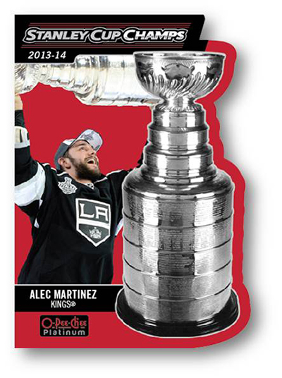 Alec Martinez Stanley Cup Champs Card