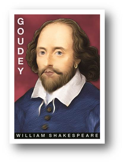 William Shakespeare 2015 Goodwin Champions Card